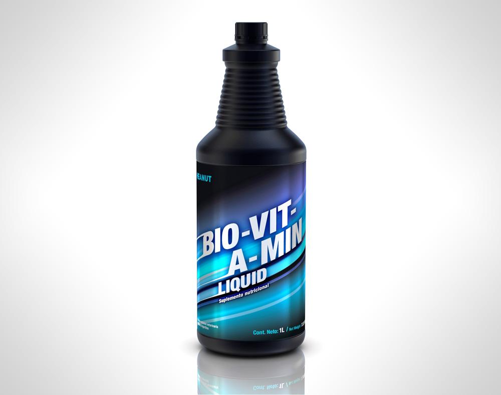 Bio-Vit-A-Min Liquid (Tónico Energizante)