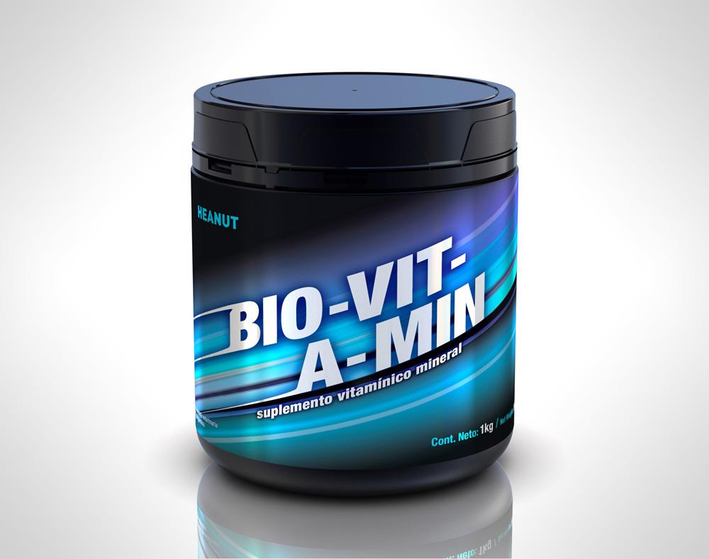 Bio-Vit-A-Min (Vitaminico, Mineral y Aminoácidos)